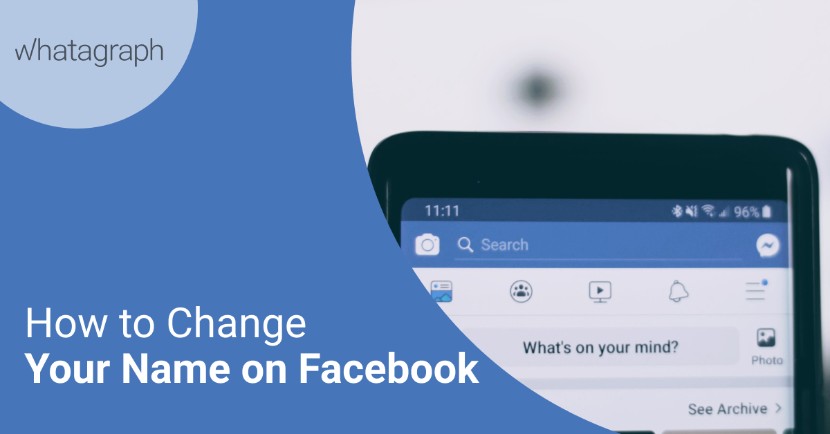 How To Change Your Name On Facebook Blog Whatagraph