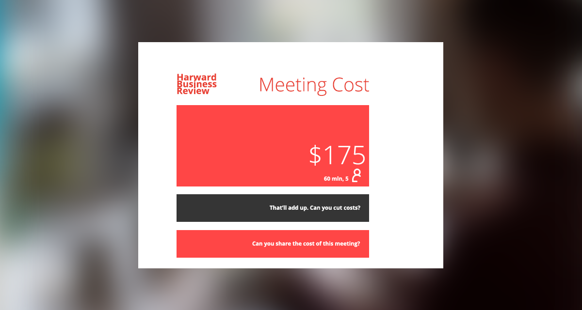 The impact of meetings to your business