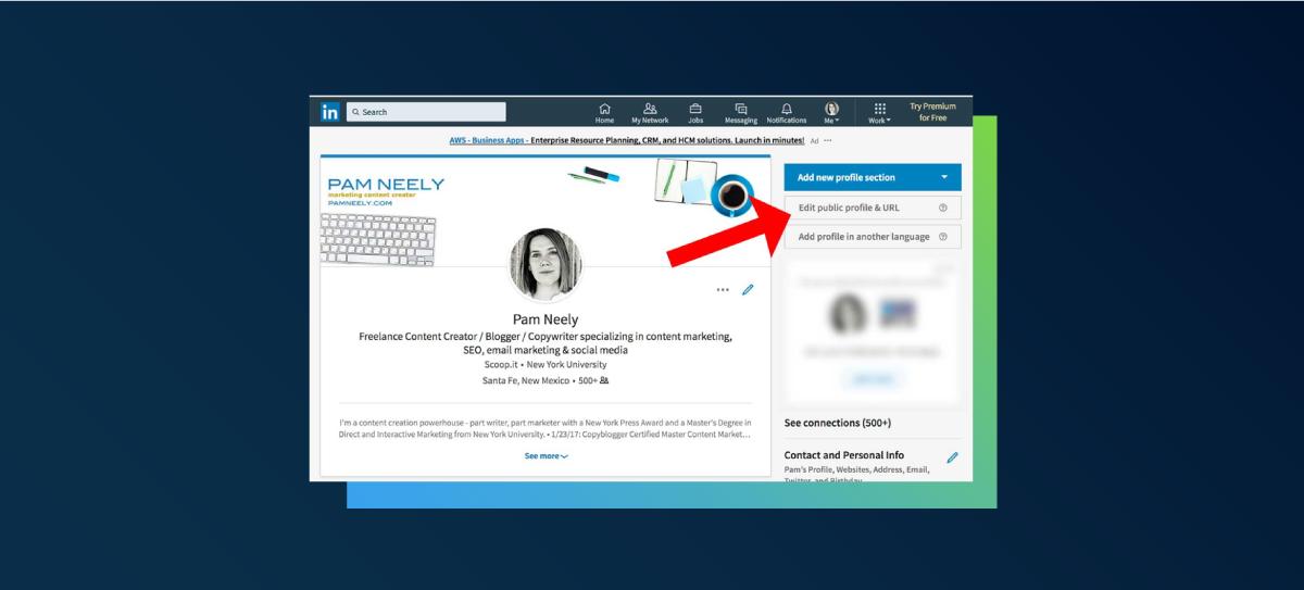 Creating custom LinkedIn URLs