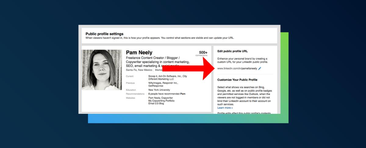 How to create custom LinkedIn profile URL?