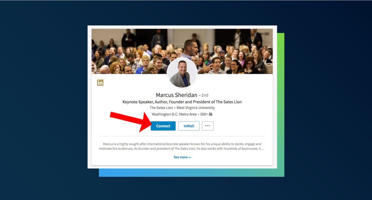 How to connect to people on LinkedIn