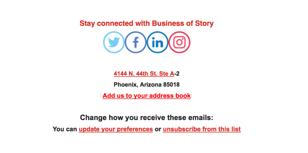 Ask your subscribers to add your email to their address book